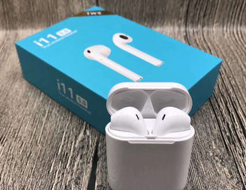 China TWS Mini In Ear Bluetooth Headphones  , Sports Sweatproof Wireless Stereo Earphone With Touch Control factory