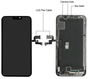 Full Original Iphone Xs Max Screen And Digitizer Assembly Replacement Black Color