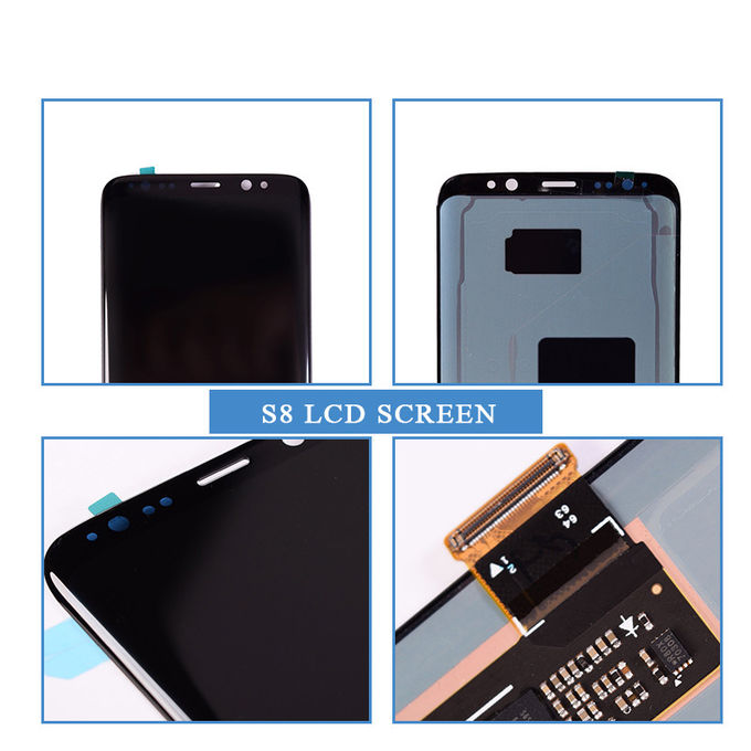 mobile phone lcd spare parts samsung Galaxy S8 SM-G9500 LCD Original paypal accepted